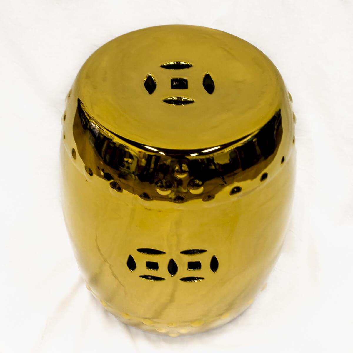 Sgabello oro doppia felicità