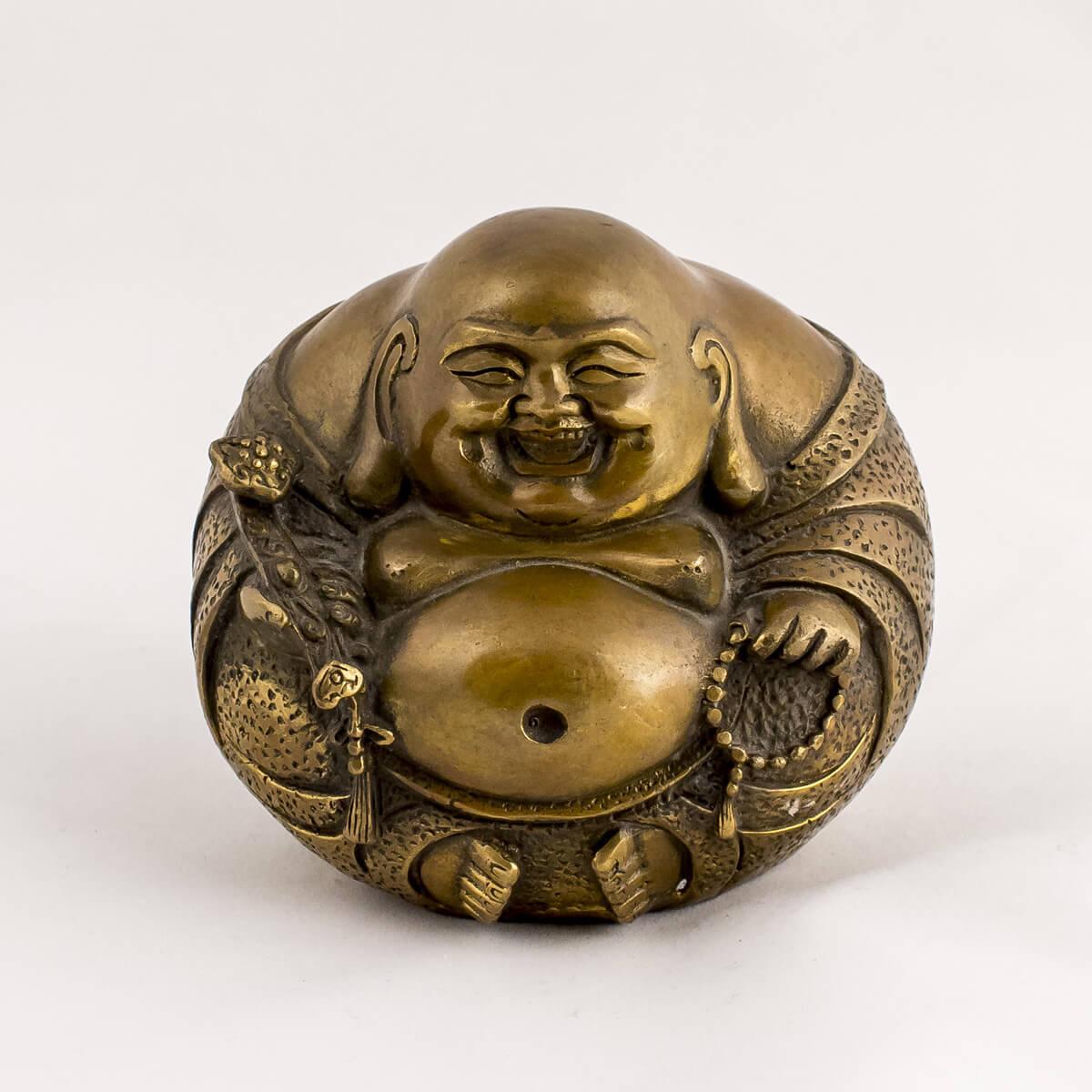 Buddha seduto in bronzo