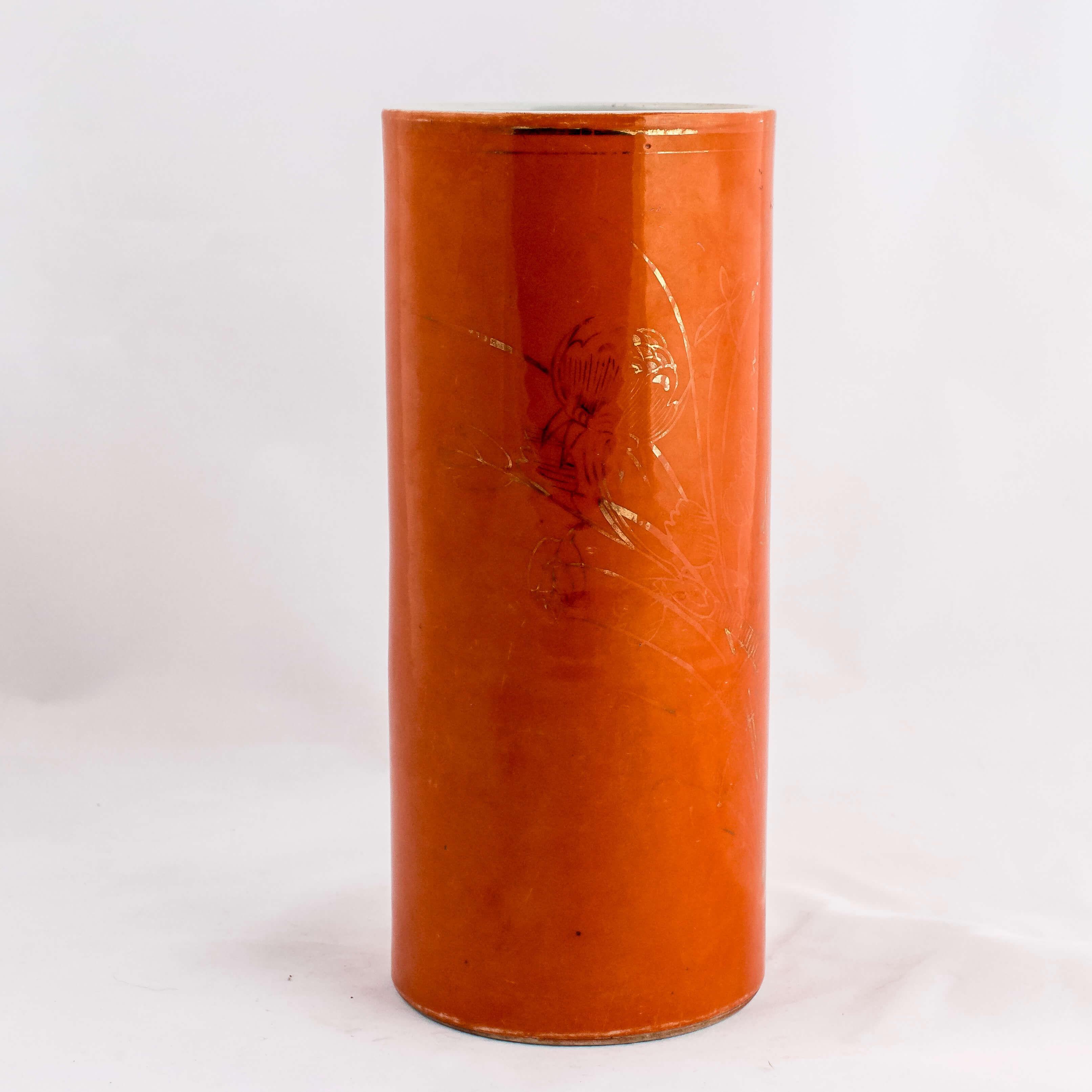 Porta pennelli arancio